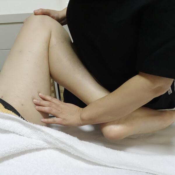 Masaje deportivo por Ángela Cobos