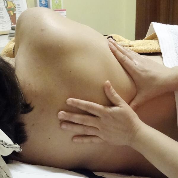 Masaje para embarazadas de Ángela Cobos